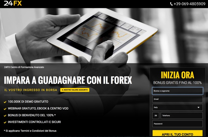 Online forex trading 24