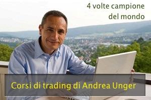 Andrea Unger - corsi di trading