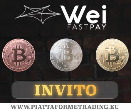 Invito a Wei Fast Pay