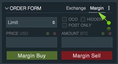 Margin trading con Bitfinex