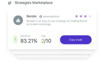 marketplace di segnali di trading