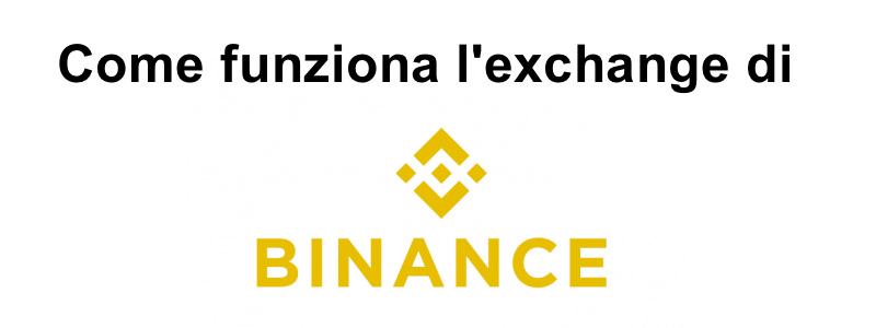 come funziona l'exchange di BInance