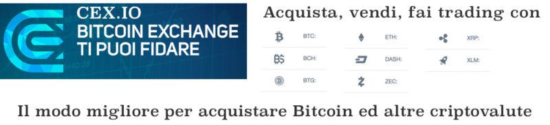 Cex.io - il modo migliore per comprare bitcoin